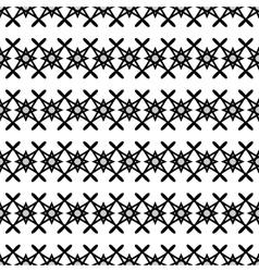 Stars geometric seamless pattern 2108 vector image vector image