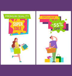 premium quality best sale vector image