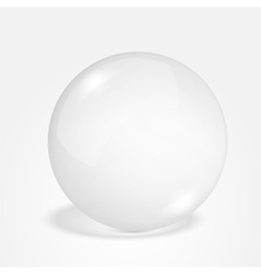 Transparent Sphere vector image vector image