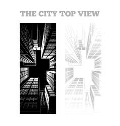 a city vector image vector image