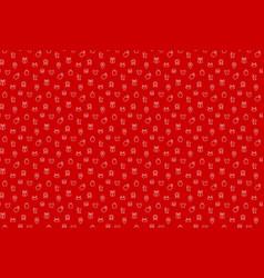 backdrop for seasonal sale trade seamless pattern vector image