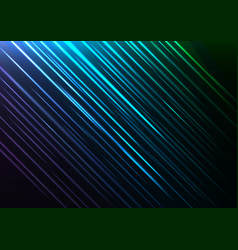 Blue speed shower abstract line background vector