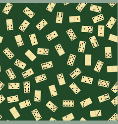 domino seamless pattern board game texture vector image