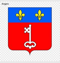 Emblem of angers vector