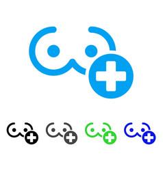 Female breast medicine icon vector