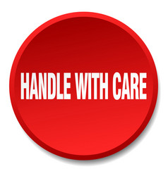 Handle with care vector
