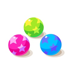 icon ball vector image