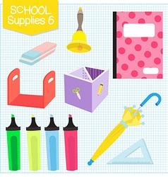 school supplies6 vector image