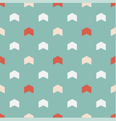 seamless colorful pattern - childish arrow vector image