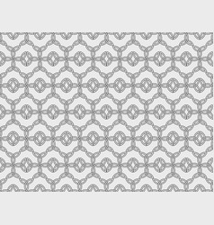 Seamless pattern with ancient runes triquetra vector