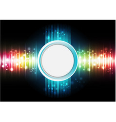 technology digital background vector image