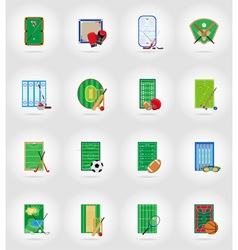sport flat icons 77 vector image vector image