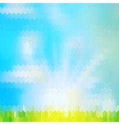 Retro geometric background EPS 10 vector image vector image