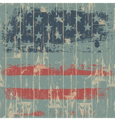 usa flag themed background vector image