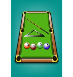 2017 year of billiard balls vector