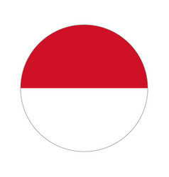 Circular world flag vector