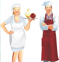 Cook service vector