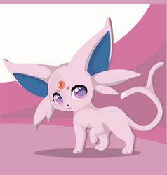 Cute cartoon animal vector