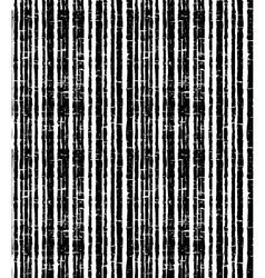 Pattern of black grunge stripes Vertical striped vector