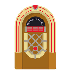 jukebox icon cartoon style vector image