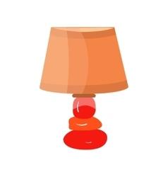 Lamps furniture light design electric vector image