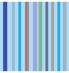 Stripe color seamless pattern vector image vector image