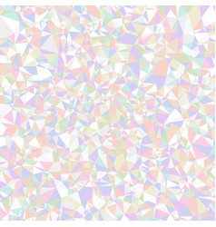 abstract triangle background colorful holographic vector image