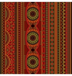 Abstract tribal ethnic seamless pattern vector