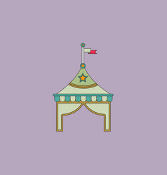Circus tent stock vector