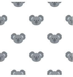 Koala pattern seamless vector