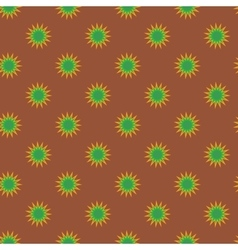 Stars geometric seamless pattern 2308 vector image