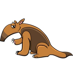 Tamandua anteater cartoon vector