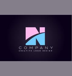 in alphabet letter join joined letter logo design vector image vector image