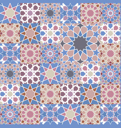 mosaic tile background vector image