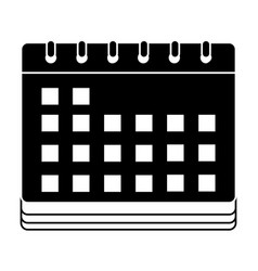 contour calendar to date information event days vector image