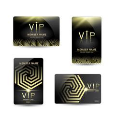 member card vector image