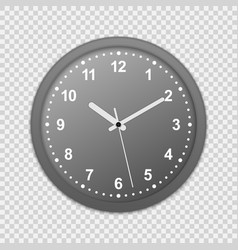wall office clock icon vector image