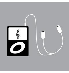 Ipod music vector image vector image