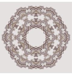 Ornamental pattern vector image vector image