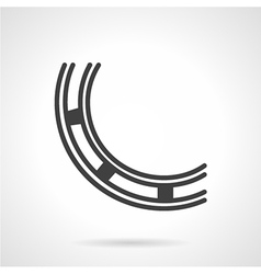 Abstract bearing line icon vector image