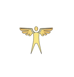 Angel computer symbol vector