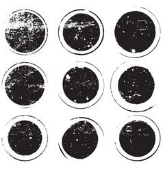 bold stamp set vector image