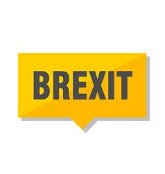 Brexit price tag vector