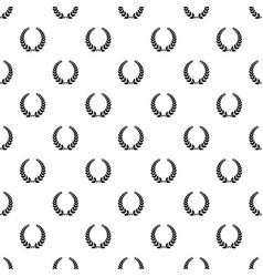 champion wreath pattern seamless vector image