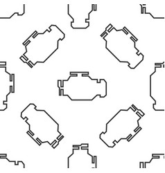 check engine icon seamless pattern vector image