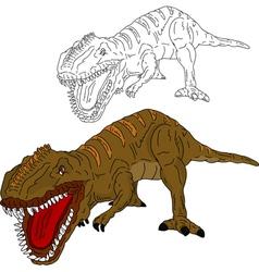 Dinosaur attack vector