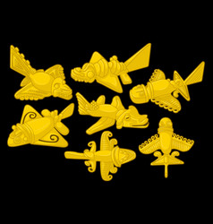 Goldenairplanes vector