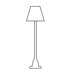 Lamp icon image vector