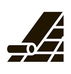 Robitumen shingle icon glyph vector