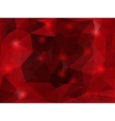 Triangle background vector